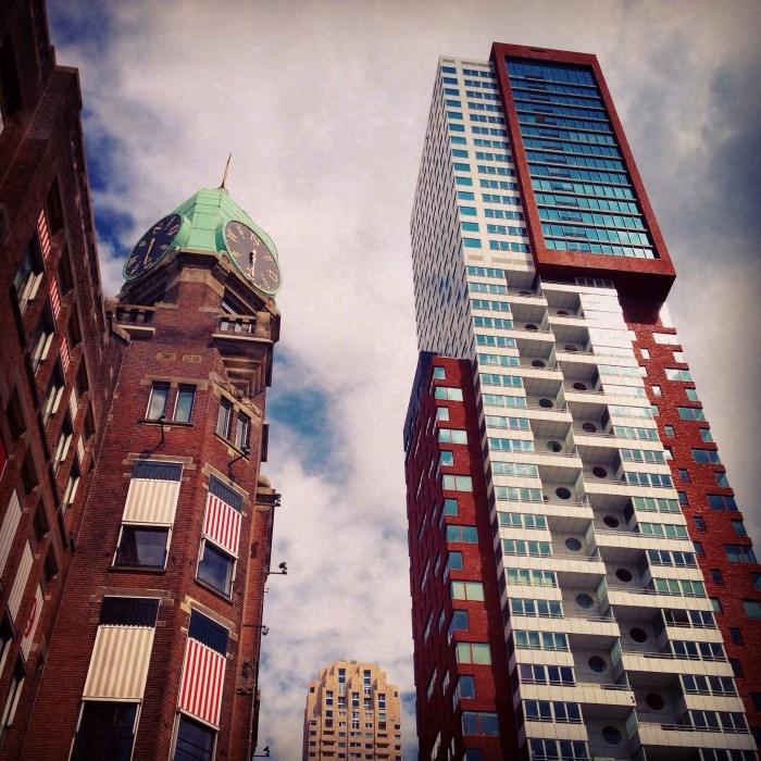 We moesten allemaal papieren regelen in Rotterdam, toen we dat eenmaal gedaan hadden vonden we wel dat we een lunch bij Hotel New York verdiend hadden!