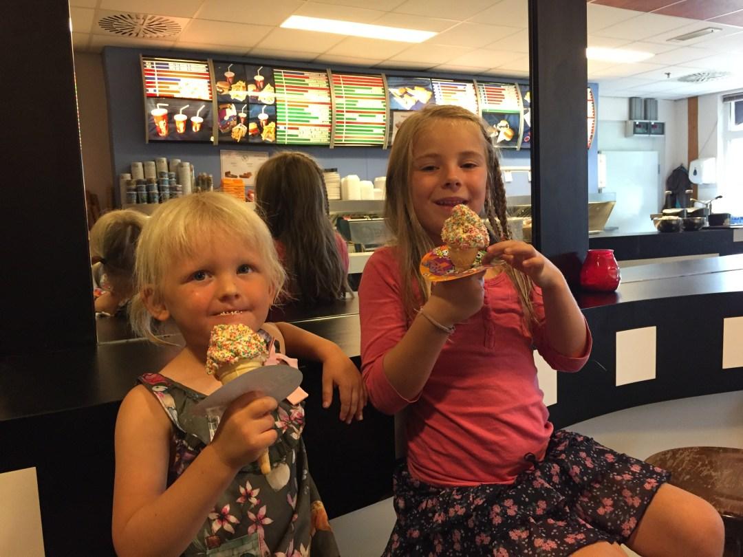 Een ijsje met discodip!