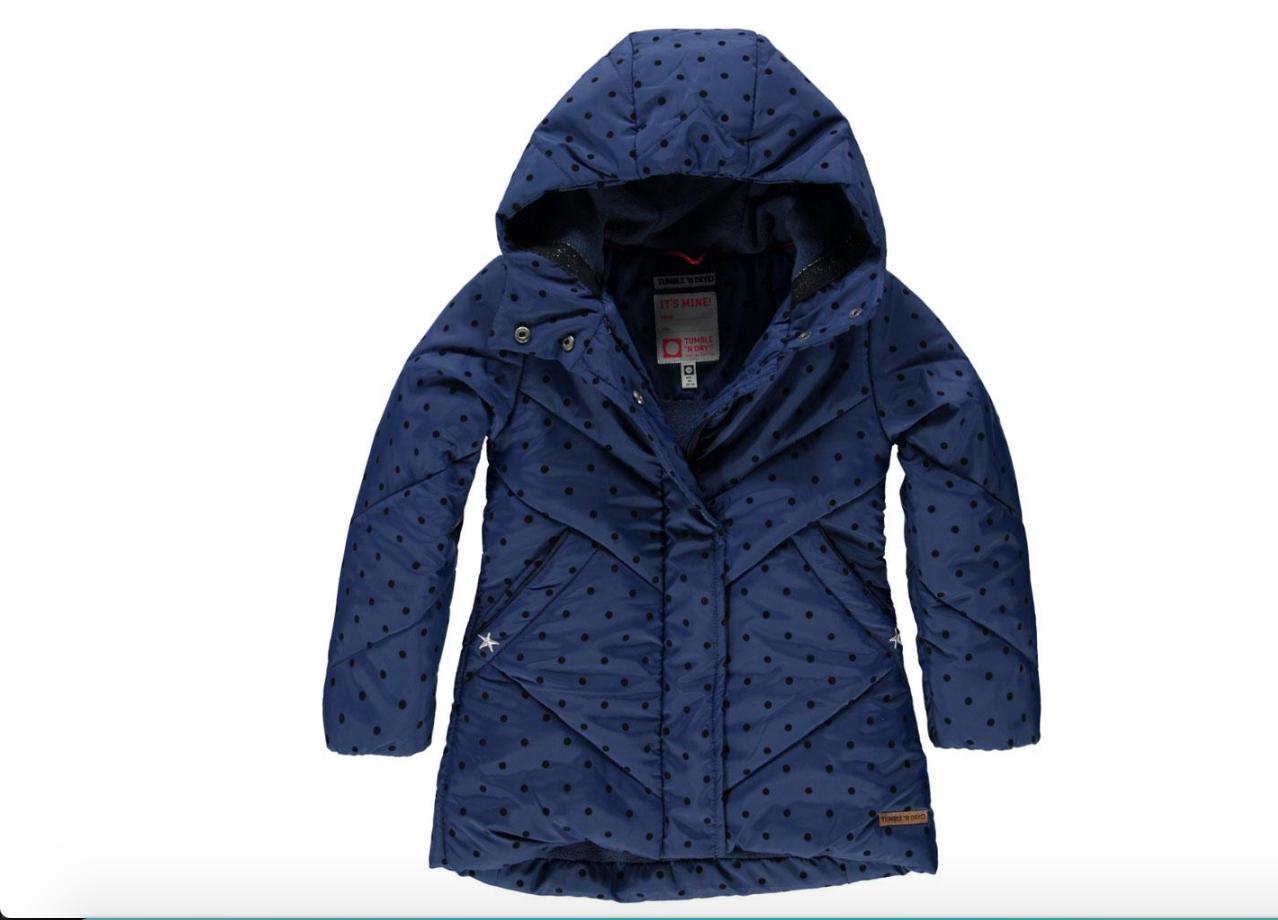 Zondag bestelde ik deze leuke jas voor Eva bij Kixx Online