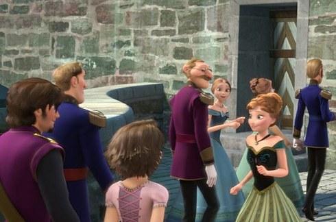 Rapunzel bij Frozen