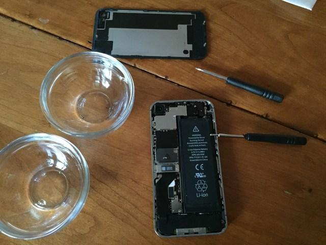 batterij van iphone