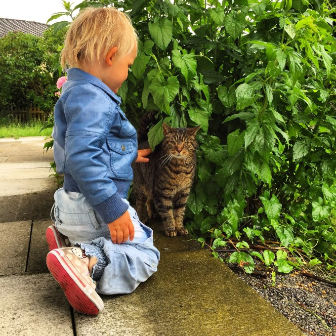 Daarna is Liza, hoewel het stevig doorregent, niet uit de tuin te slaan