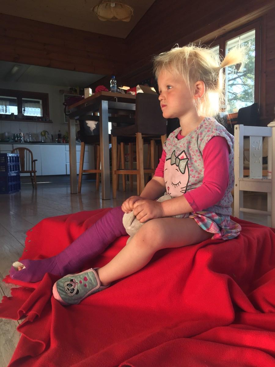 Liza heeft haar been gebroken, wie heeft tips?