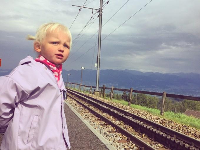Waar blijft de trein?