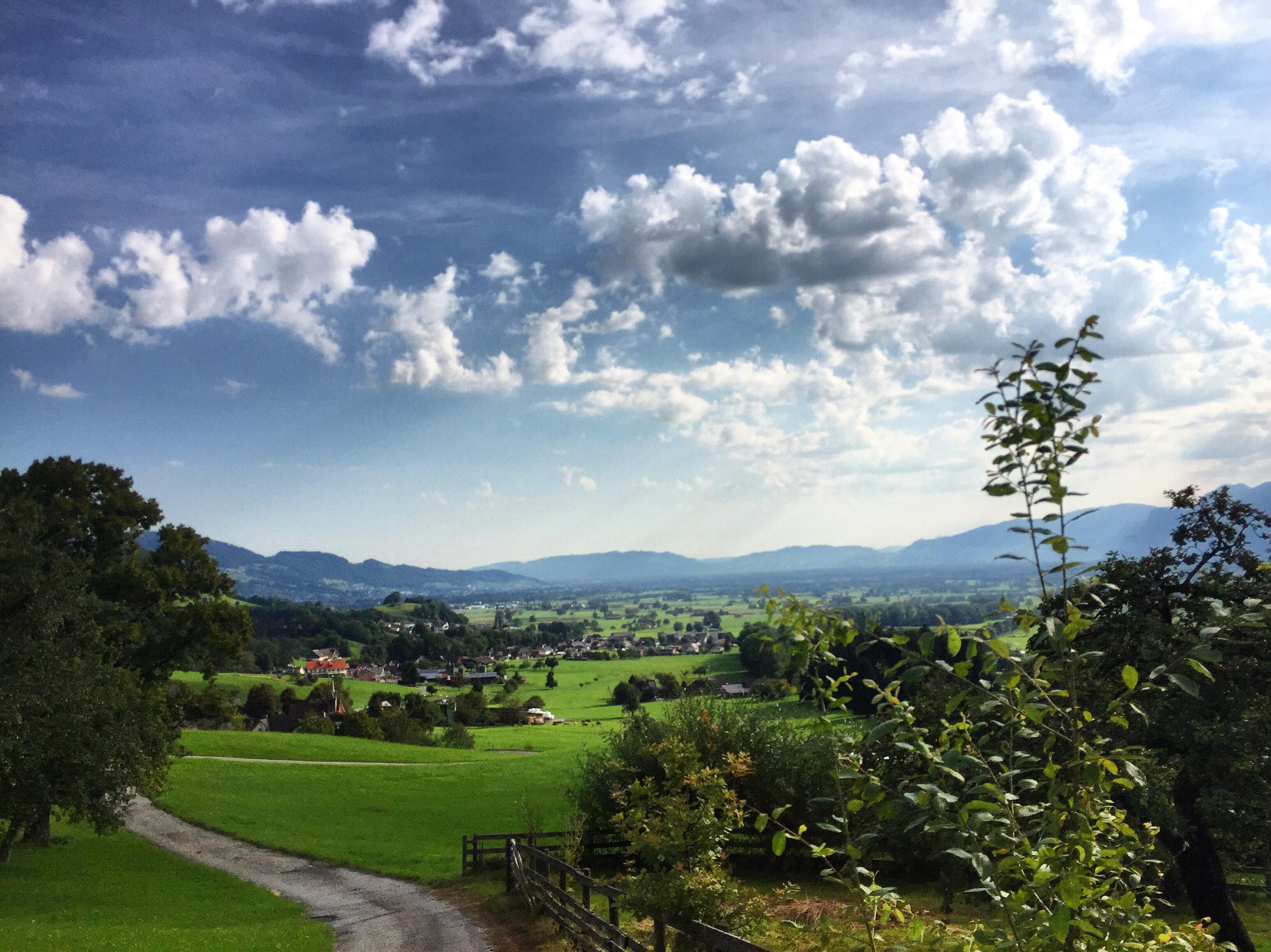 Ik geniet echt enorm van de mooie uitzichten
