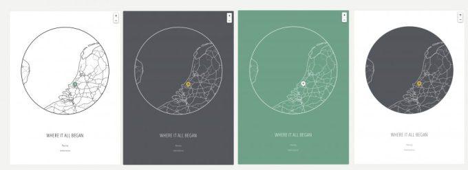 Geef je plattegrond kleur - place my map