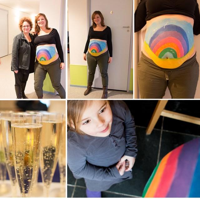 kleurjezwangerschap