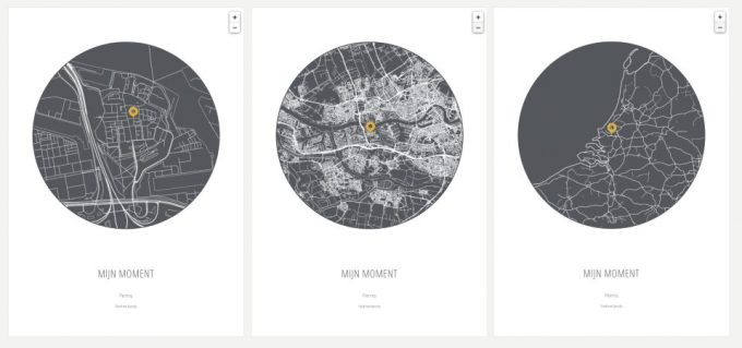 place my map - kies je plattegrond