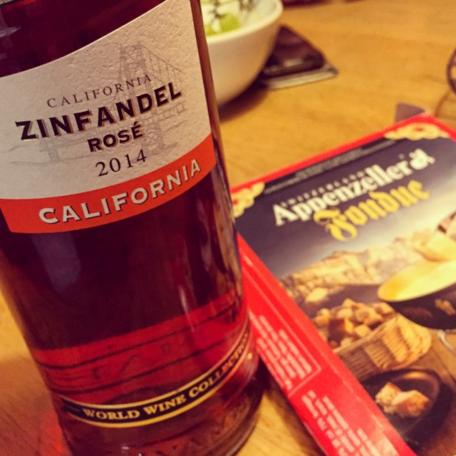 Met wijn. Veel wijn...