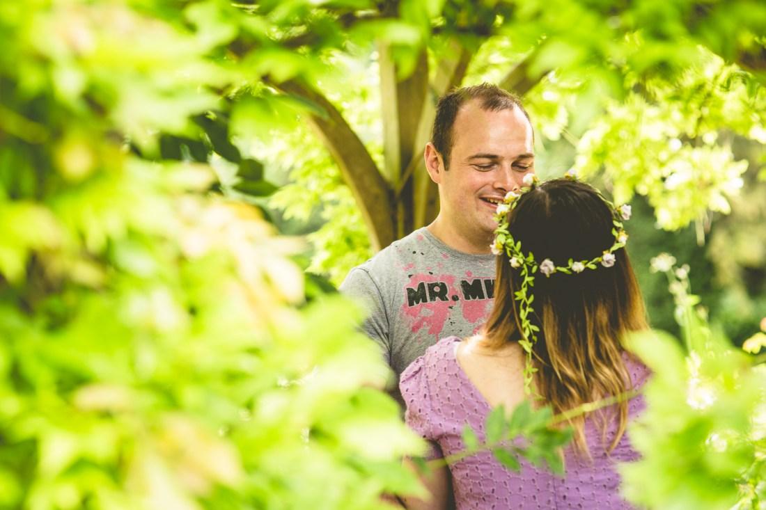 Engagement Session at Hylands Park