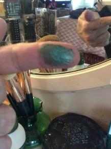Green Velvet Eye Dust