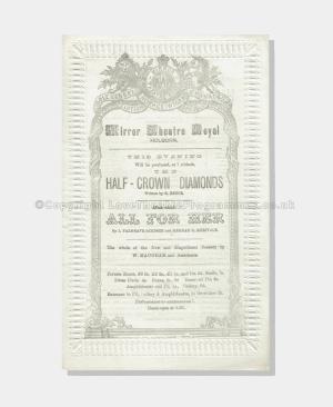 1875 - Mirror Theatre Royal - The Half Crown Diamonds