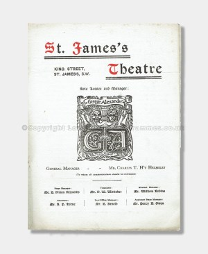 1910 - St. James's Theatre - Eccentric Lord Comberdene
