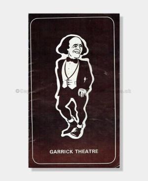 1974 Max wall Garrick Theatre