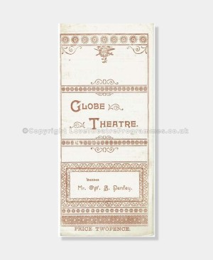 1897 Globe Theatre Miss Francis of Yale