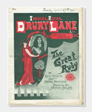 1898 Theatre Royal Drury Lane, The Great Ruby