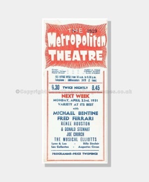 1951 DESIRE IN THE NIGHT Metropolitan Theatre