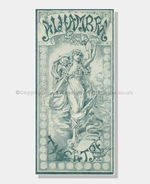 1892 ALADDIN Alhambra Theatre, Leicester Square