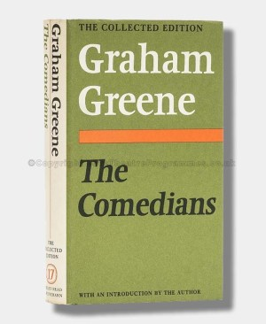 GRAHAM GREEN Comedians SIGNED