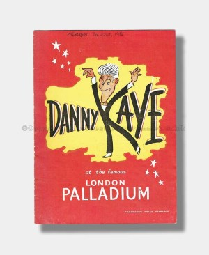 1955 DANNY KAYE London Palladium