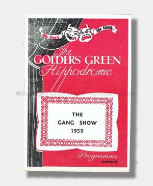 1959 THE GANG SHOW Golders Green Hippodrome