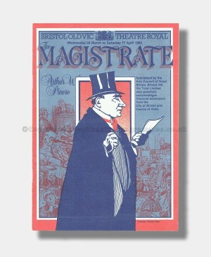 1982 THE MAGISTRATE Bristol Old Vic Theatre Royal