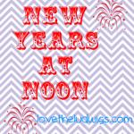 New Years at Noon