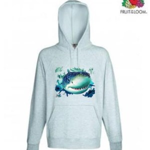Shark Design Hoodie