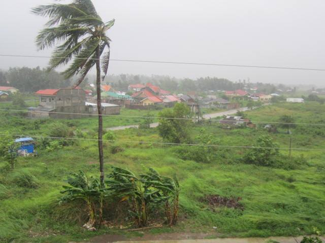 Typhoon Ruby spared Estancia unlike Yolanda 1 year earlier.