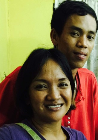kuya reunited with his mother
