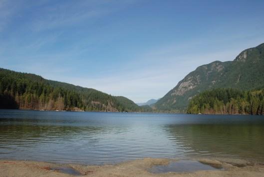 Vancouver Buntzen Lake from South Beach