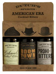 Dutch's Spirits trio of American Era Cocktail Bitters.