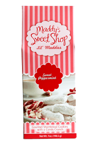 Maddy's Sweet Shop Peppermint Snaps.
