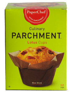 PaperChef Culinary Parchment Lotus Cups.