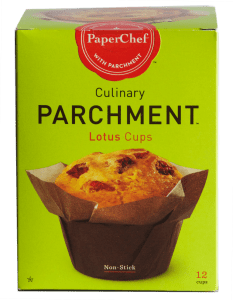 Paper Chef Culinary Parchment Lotus Cups.