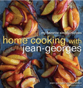 Jean-Georges home cooking cookbook.