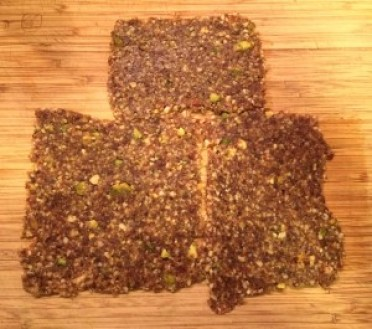 Nutrawbar Pistachio bars rolled out