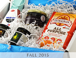 MARY's secret ingredients 2015 fall box.