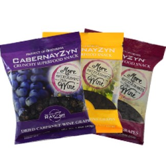 The Wine Co. RayZyn's packages in 3 flavors.