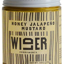 Wilder Honey Jalepeno Mustard.