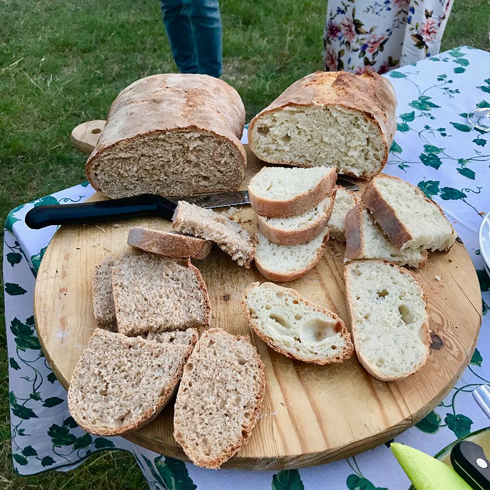 Marzia's beautiful breads.