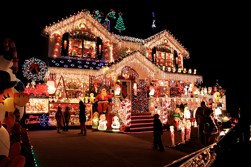 Overly Decorated Christmas House Pictures, Photos, And