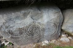 Megalithic art at Knowth