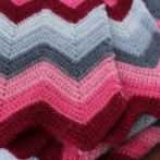 Fuzzy warm chevrons