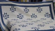 One of the quilts from a four-generation span in one family