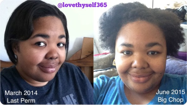 "Before & After ""Going Natural"""