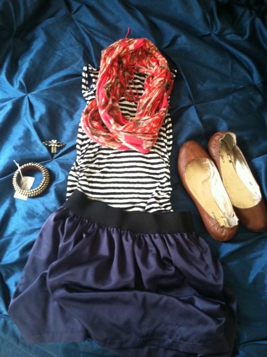skirt and bracelet from Plato's