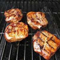 Marinated Grilled Pork Chops