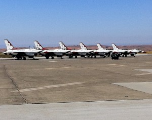 Travis Air Show - USAF Thunderbirds