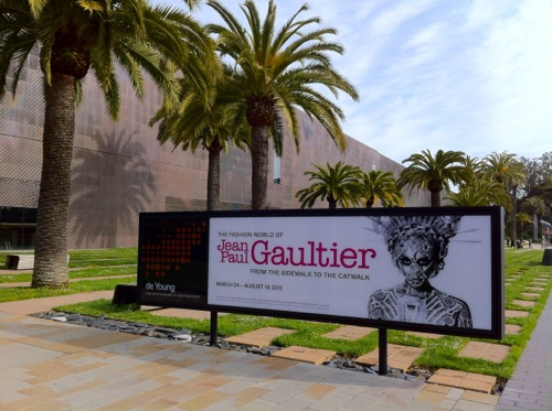 The Fashion World of Jean Paul Gaultier: From the Sidewalk to the Catwalk exhibit at the de Young Museum in San Francisco , CA